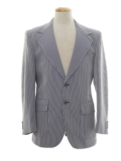 1970's Mens Blazer Sport Coat Jacket