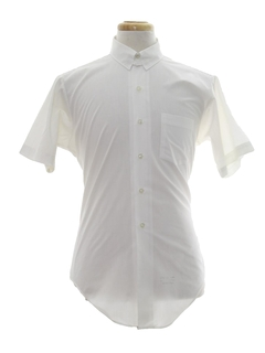 1960's Mens White Shirt