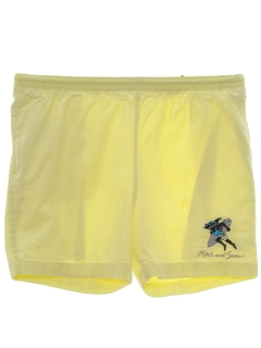 1980's Mens Surf Sport Shorts