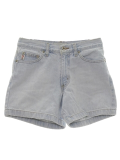 1980's Womens Wicked 90s Designer Denim Shorts