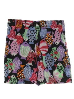 1990's Womens Wicked 90s Culotte Shorts