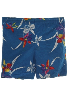 1980's Mens Hawaiian Board Shorts