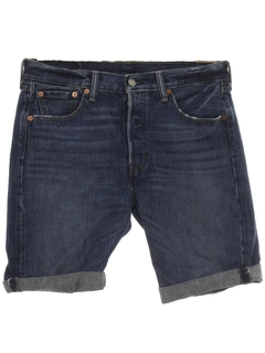 1980's Unisex Levis 501 Cut Off Denim Shorts