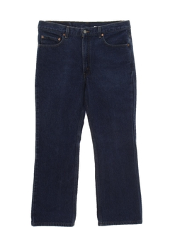 1980's Mens Flared Jeans Pants