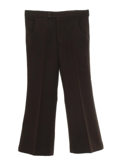 1970's Mens Polyester Flared Bellbottom Leisure Pants