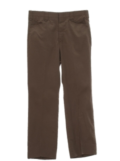 1970's Mens Flared Western Pants