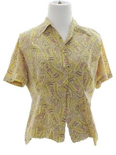 1940's Womens Print Shirt