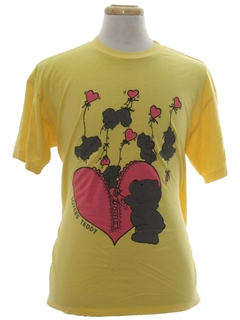 1980's Unisex Cheesy T-shirt