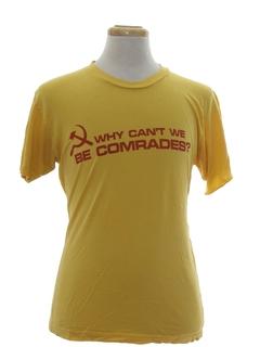1980's Unisex Political T-shirt