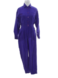 1980's Womens Totally 80s Jumpsuit