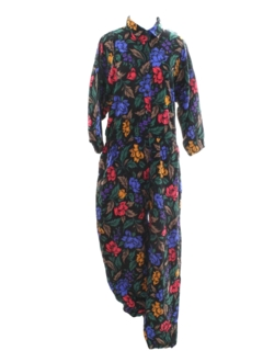 1990's Womens Wicked 90s Designer Jumpsuit
