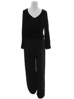 1980's Womens Cocktail Jumpsuit