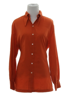 1970's Womens Mod Hippie Shirt