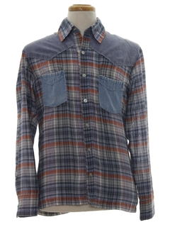1960's Mens Hippie Shirt