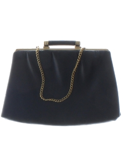 1960's Womens Accessories - Leather Clutch Purse