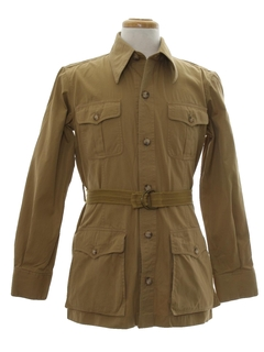 1970's Mens Safari Jacket