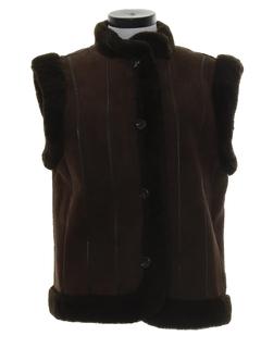 1970's Womens Designer Hippie Vest