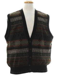 1990's Mens Wicked 90s Sweater Vest