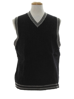 1990's Mens Wool Sweater Vest
