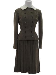 1950's Womens Suit