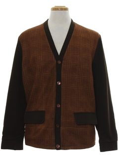 1960's Mens Mod Sweater Jacket