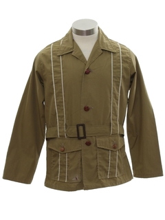 1970's Mens Leisure Safari Jacket