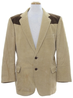 1980's Mens Western Sport Coat Jacket