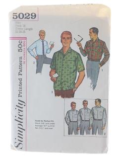 1960's Mens Pattern