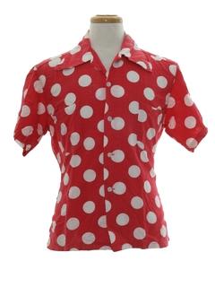 1940's Mens Sport Shirt