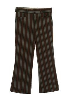 1960's Mens Mod Bellbottom Pants