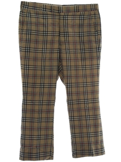 1960's Mens Golf Style Pants