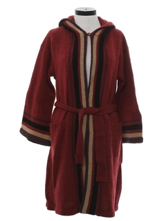1970's Womens Sweater Robe