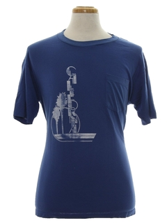 1980's Mens Travel T-Shirt