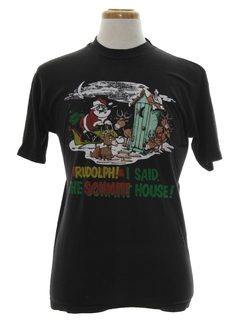 1980's Unisex Tasteless Holiday T-Shirt