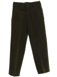 1940's Mens Button Fly Uniform Pants