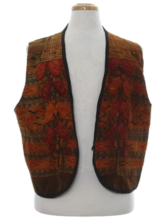 1970's Mens Hippie Vest