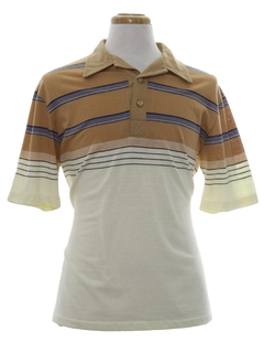 1980's Mens Totally 80s Polo Shirt