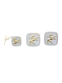 1960's Mens Accessories - Cufflinks/Tie Tack Set