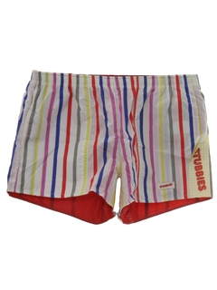 1980's Mens Totally 80s Reversible Shorts
