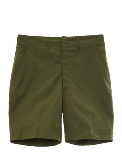 1960's Mens Boy Scout Saturday Shorts