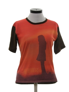 1970's Womens Photo Print T-Shirt