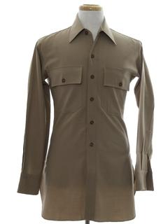 1940's Mens Uniform Shirt