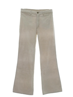 1970's Mens Bellbottom Jeans Cut Pants
