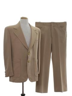 1970's Mens Disco Suit