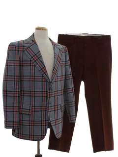 1970's Mens Combo Disco Suit