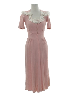1940's Womens Fabulous 40s Dress