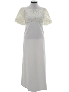 1960's Womens Wedding or Cocktail Dress