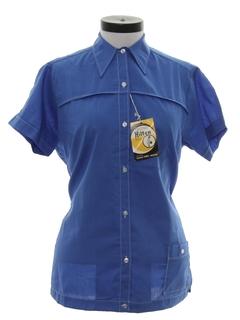 1960's Womens Bowling Style Shirt