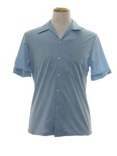 1960's Mens Print Disco Shirt