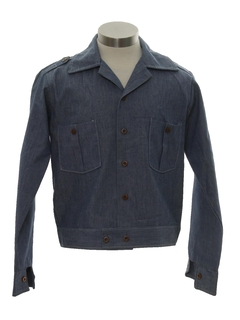 1960's Mens/BoysLeisure Style Denim Jacket